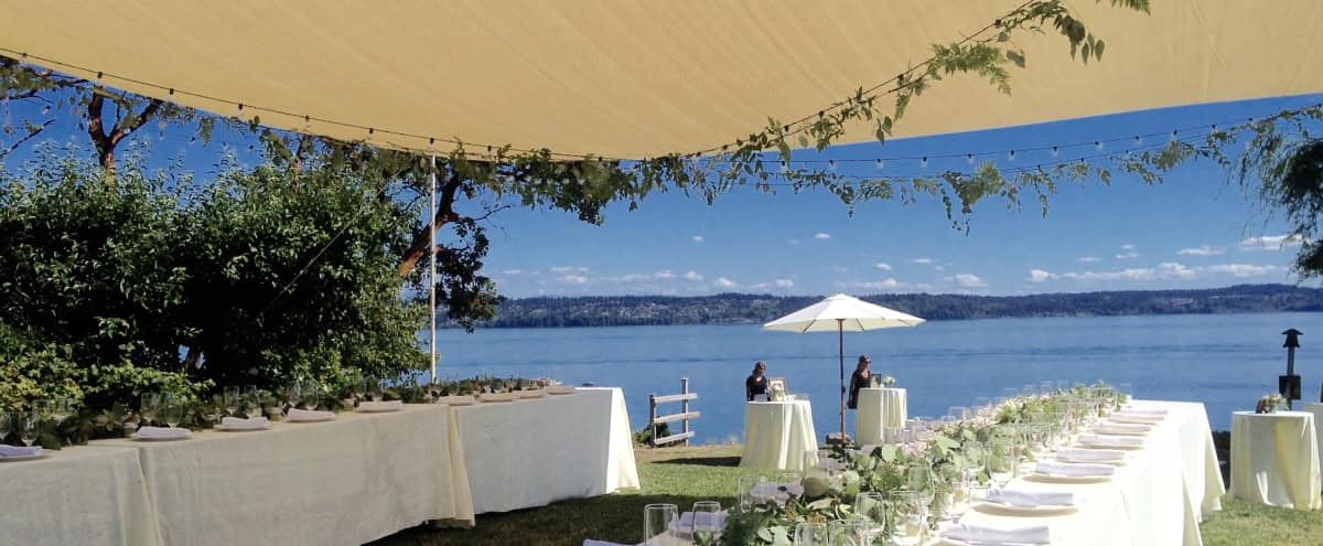 Vashon Field & Pond, Mansion & Cottages | Stunning Special Event Space in Seattle Hero Image in undefined, Seattle, WA