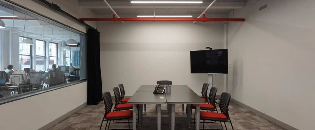 Private 600 Square Foot Meeting Room in Chelsea in New York Hero Image in Chelsea, New York, NY