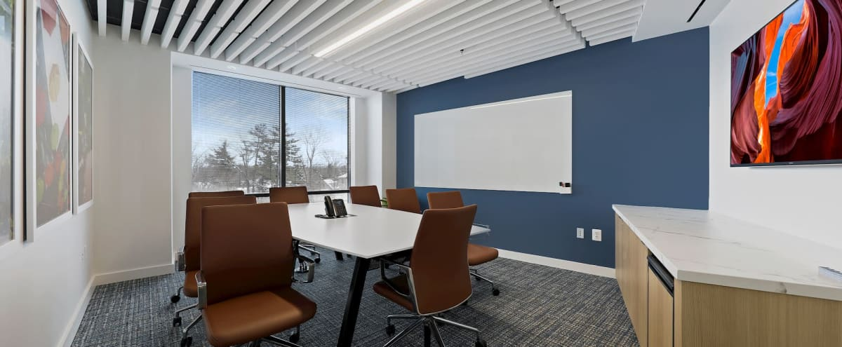 Exterior Meeting Room in an Upscale Workplace in Chevy Chase Hero Image in undefined, Chevy Chase, MD