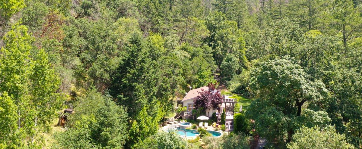 Beautiful Outdoors Modern House - enjoy a view + pool in Kenwood Hero Image in undefined, Kenwood, CA