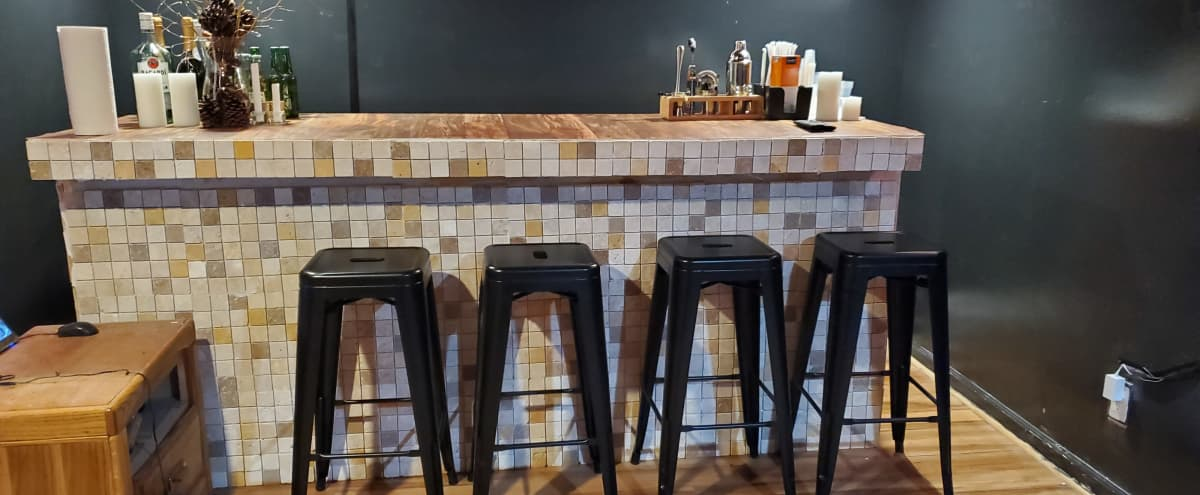 A Roomy Chic Lounge/Bar Space perfect for events and photoshoots in Brooklyn Hero Image in Ocean Hill, Brooklyn, NY