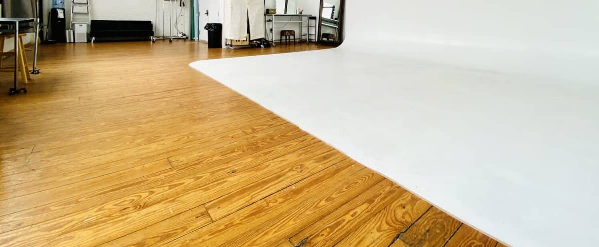 Large Daylight Studio for Event Rentals in Brooklyn Hero Image in East Williamsburg, Brooklyn, NY