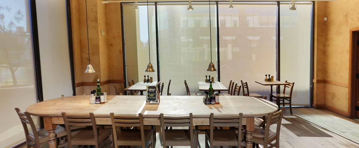 Rustic Encino Cafe With Large Outdoor Patio & Semi Private Space in Encino Hero Image in Encino, Encino, CA