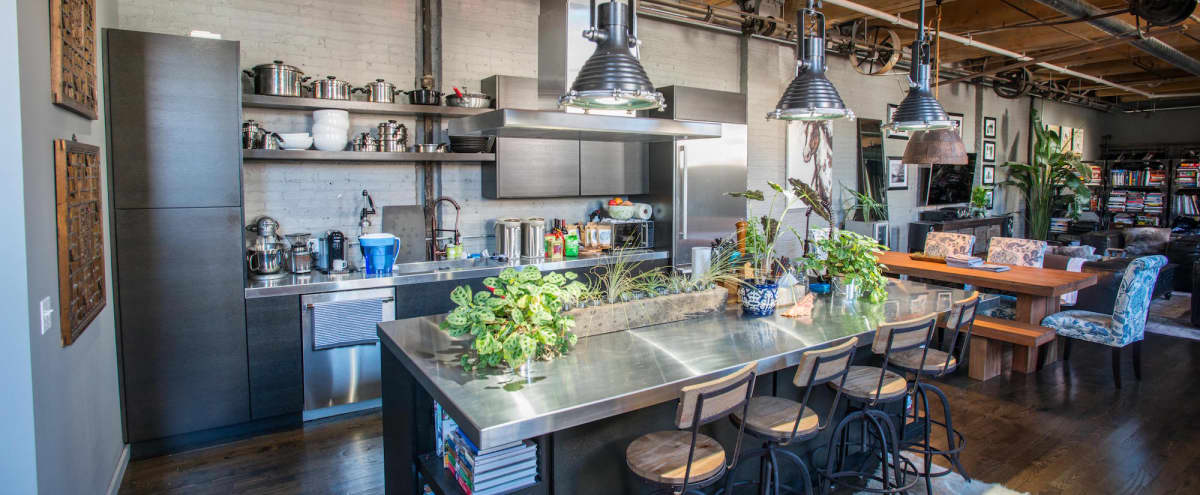 Spring Factory turned Open-Concept Loft with Award-Winning Kitchen!!! in Chicago Hero Image in East Village, Chicago, IL
