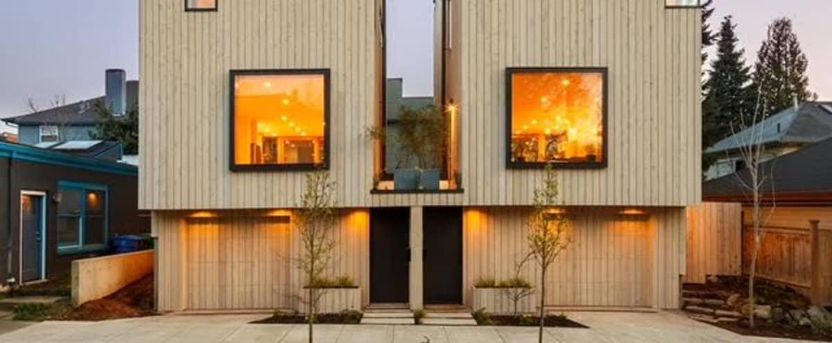 Scandinavian modern townhouse in Portland Hero Image in Southeast Portland, Portland, OR