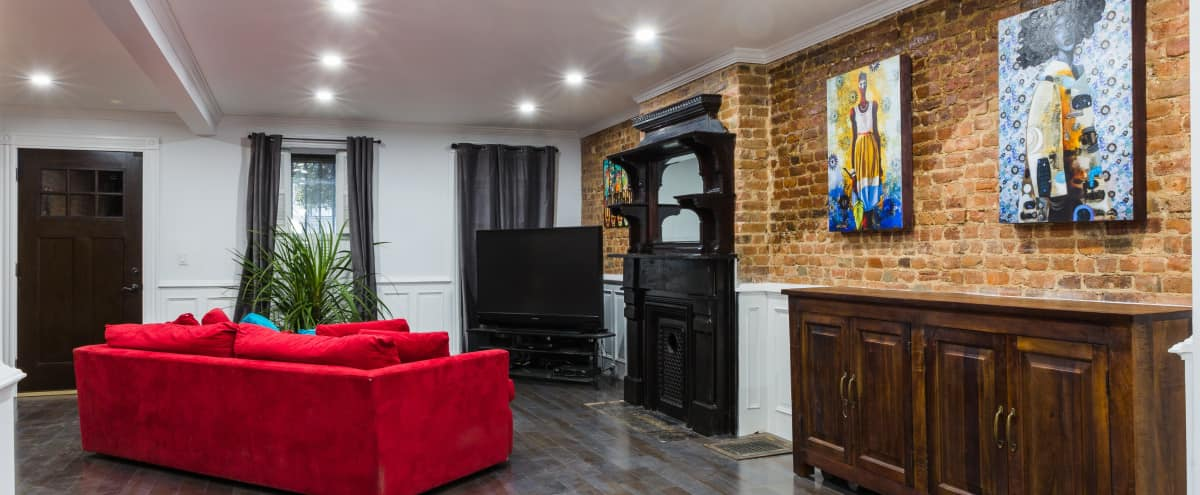 Regal Brooklyn Brownstone in Brooklyn Hero Image in Bedford-Stuyvesant, Brooklyn, NY