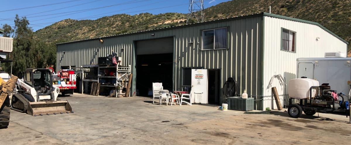 Mechanics Shop, Garage, Warehouse, Open Building,  Working Office, Parking Lot, Rural View's in Santa Clarita Hero Image in undefined, Santa Clarita, CA