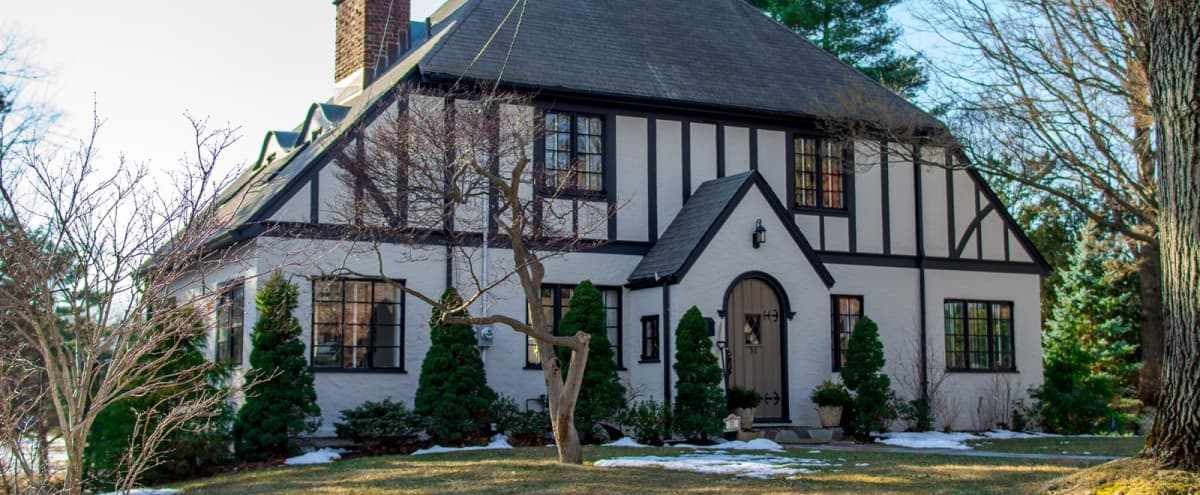 Gracious Stucco Tudor in the suburbs of NYC in White Plains Hero Image in undefined, White Plains, NY