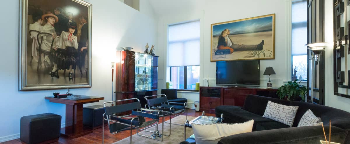 Bright 7,500 sq ft  art deco and mid century modern church- Boerum Hill in Brooklyn Hero Image in Boerum Hill, Brooklyn, NY