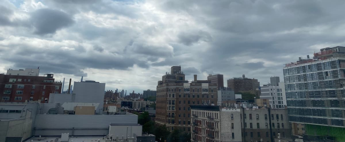 Uptown Apartment with Natural Light and Skyline View in New York Hero Image in Harlem, New York, NY