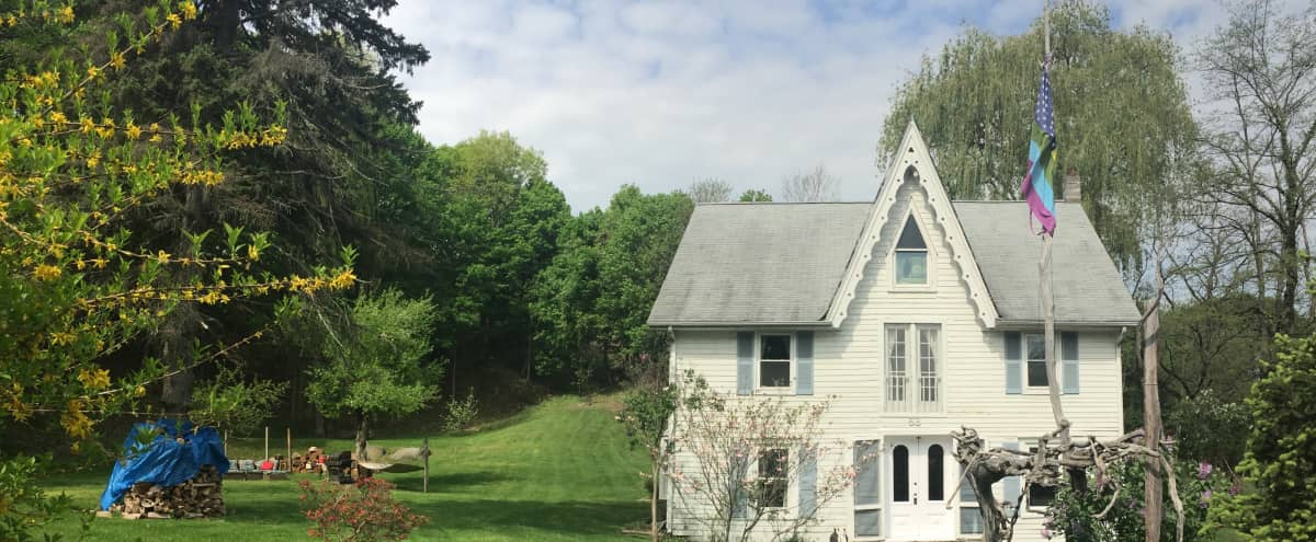 1850s Riverfront Carpenter Gothic Victorian 2 acres in Cornwall-on-hudson Hero Image in undefined, Cornwall-on-hudson, NY