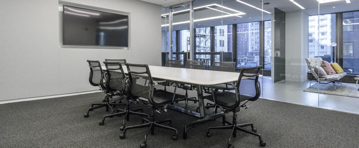 Premium Conference Room | Loop - Milan Room in Chicago Hero Image in The Loop, Chicago, IL