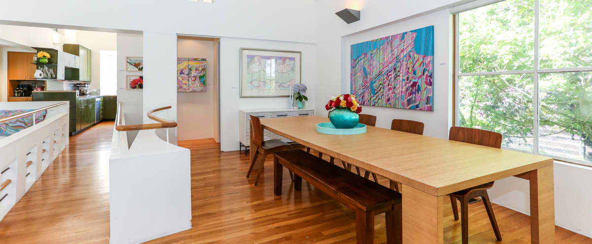 Architecturally Stunning Modern Treehouse with Abundant Natural Light and Ample Room to Celebrate - Top Two Floors in San Francisco Hero Image in Inner Sunset, San Francisco, CA