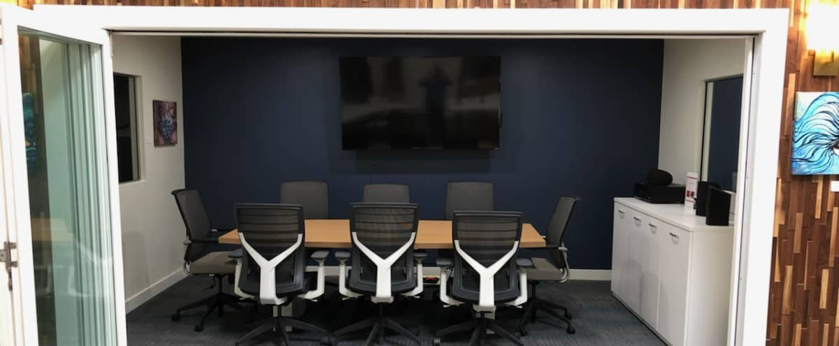 Affordable Private Conference Room for 8 in San Diego Hero Image in Bay Ho, San Diego, CA