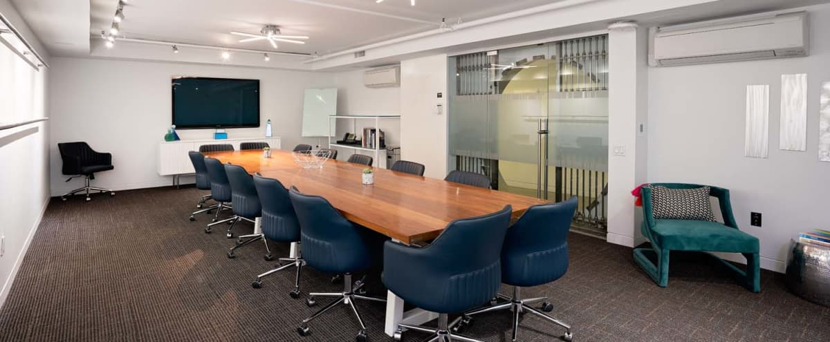 Vault Board Room - Private & Professional - NYC Midtown in New York Hero Image in Midtown, New York, NY