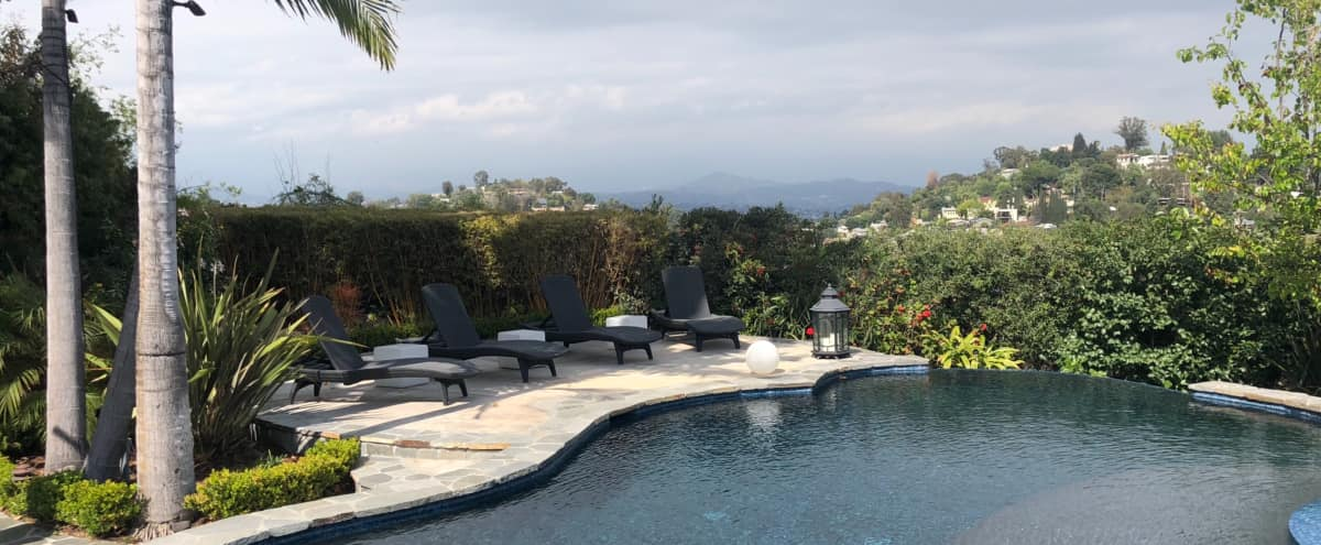 Silverlake Home with Downtown LA & Mountain Views in Los Angeles Hero Image in Silver Lake, Los Angeles, CA
