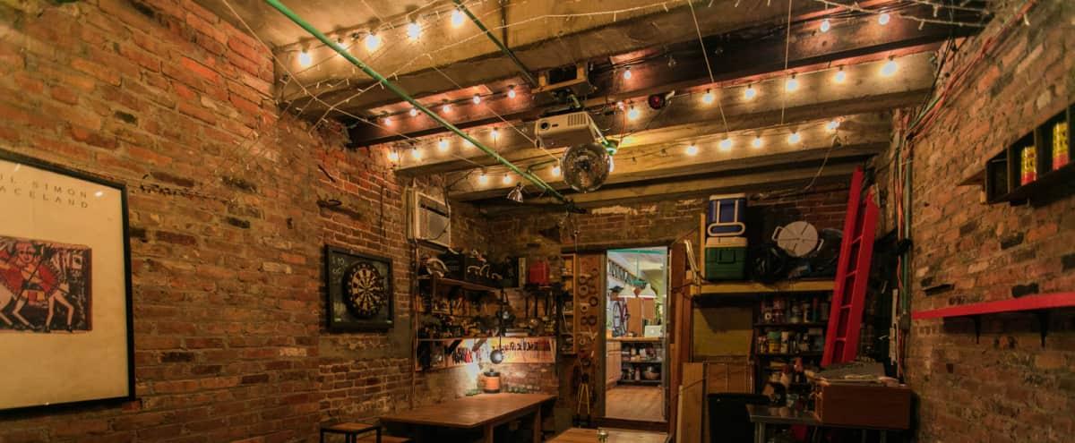 Custom Renovated Brooklyn Studio w/ Converted Brick Garage - Presentations, Meetings, Seminars, Workshops, Dining, etc. in Brooklyn Hero Image in Boerum Hill, Brooklyn, NY