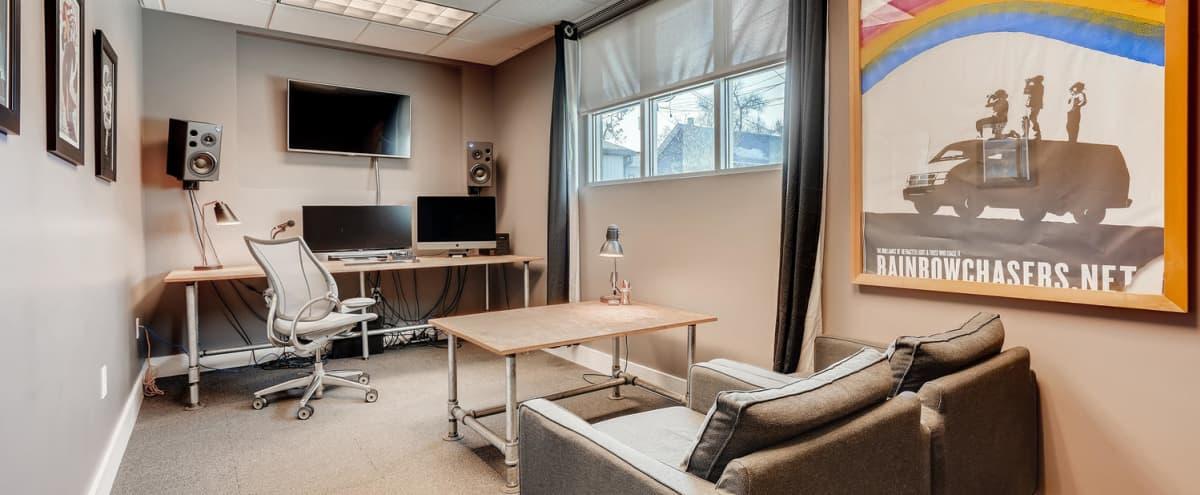 Post-Production editing suite in Denver Hero Image in Lower Highlands, Denver, CO