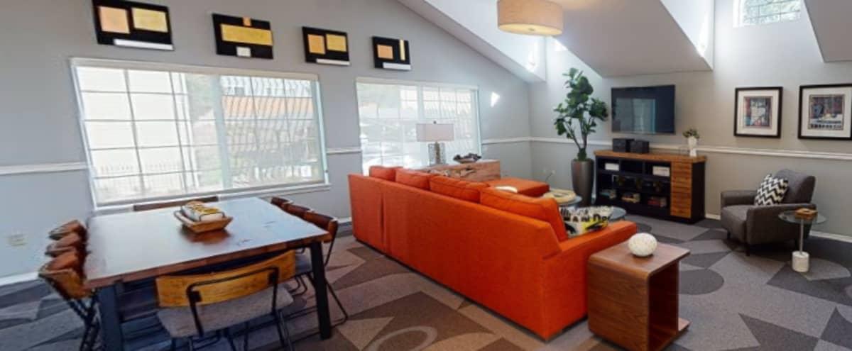 Light and Modern Meeting Lounge in Renton in Renton Hero Image in Parking lot, Renton, WA