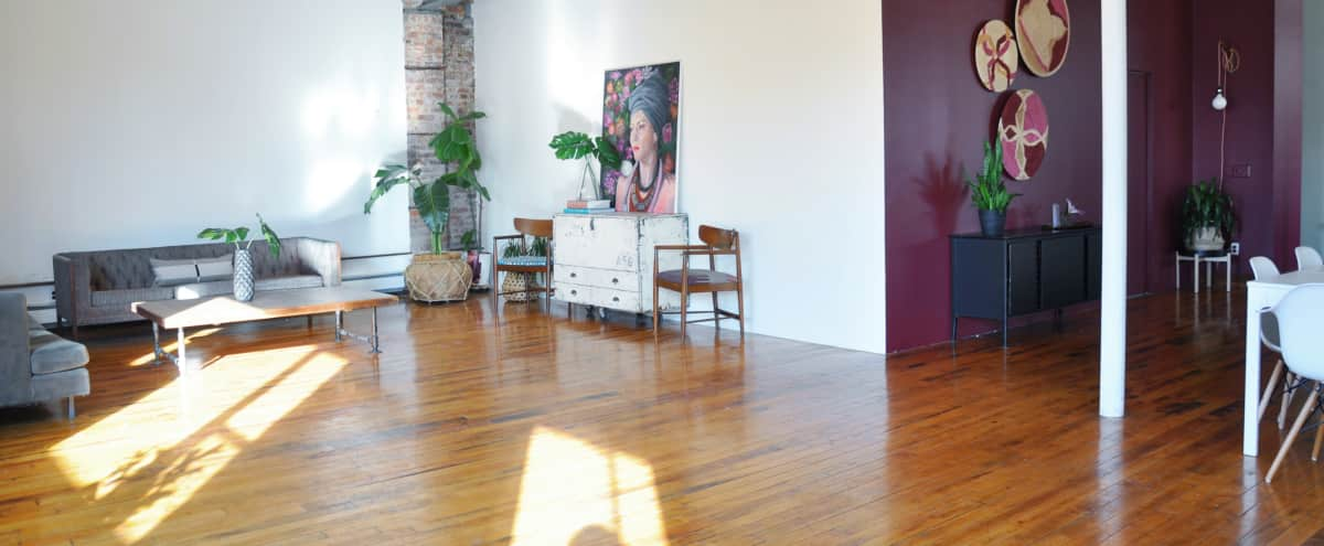 West Side Loft: 2800 SQ FT Loft for Small Production in Brooklyn Hero Image in Clinton Hill, Brooklyn, NY