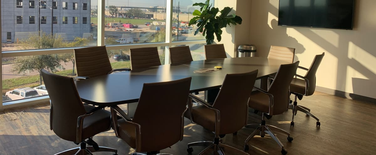 Open Conference Room with a View in Houston Hero Image in Wortham Grove, Houston, TX