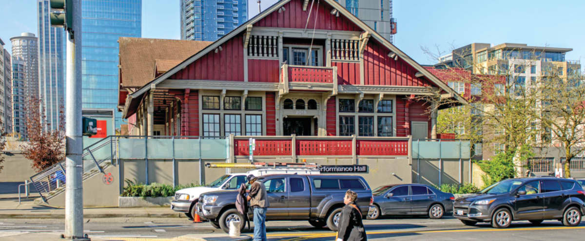 Historic Performance Hall in Seattle Hero Image in Belltown, Seattle, WA