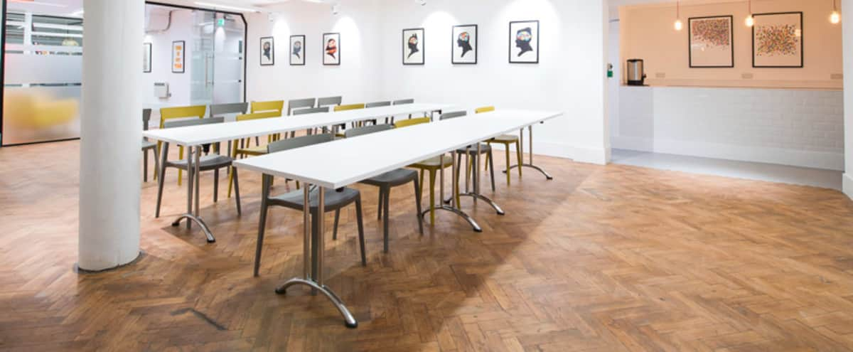 Meeting Space with Original Features in Farringdon in London Hero Image in Clerkenwell, London,