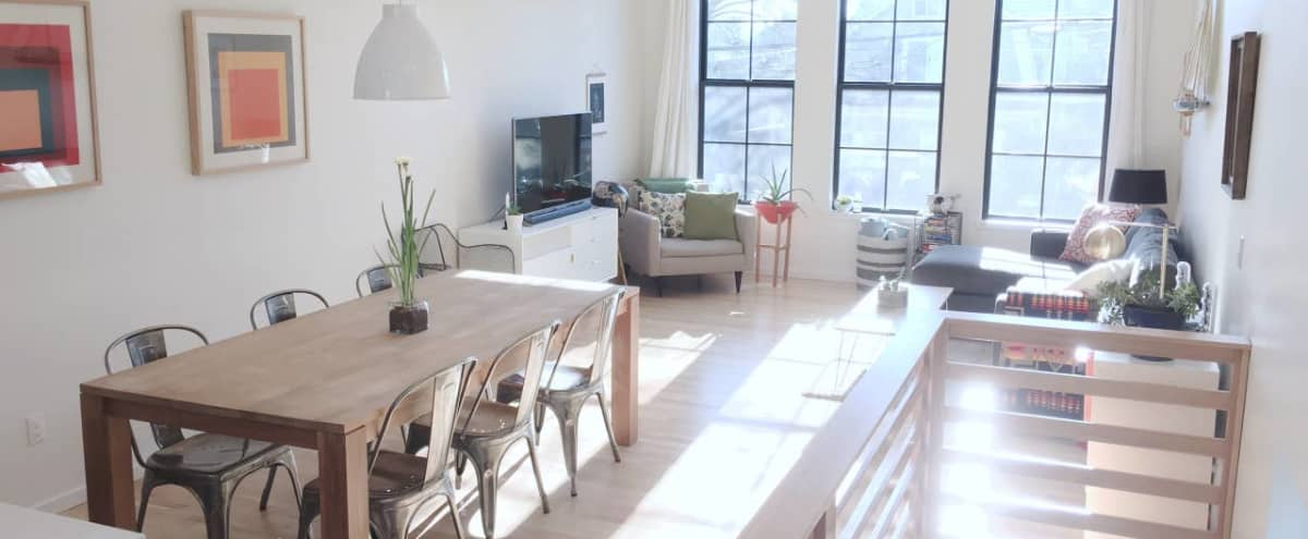 Meeting Retreat: Hip & Modern Loft with Great Natural Light in Portland Hero Image in Northeast Portland, Portland, OR