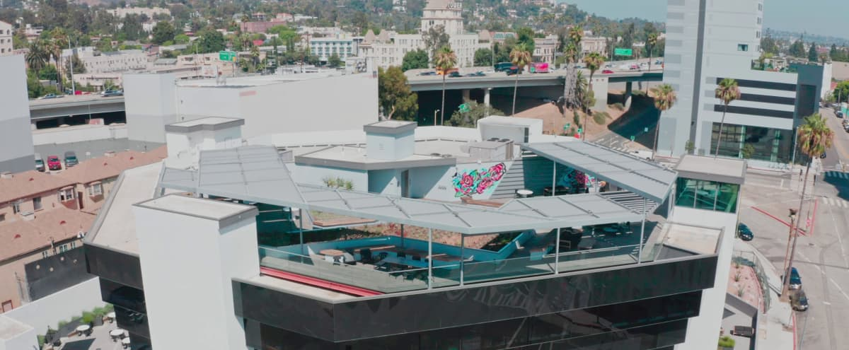 Exclusive Hollywood Rooftop Across from Capitol Records & H Club in Hollywood Hero Image in Hollywood, Hollywood, CA