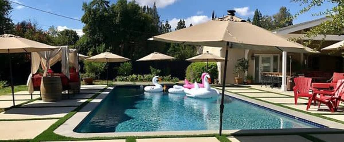 Suburban Sprawling Ranch house propery with pool in Woodland Hills Hero Image in Woodland Hills, Woodland Hills, CA