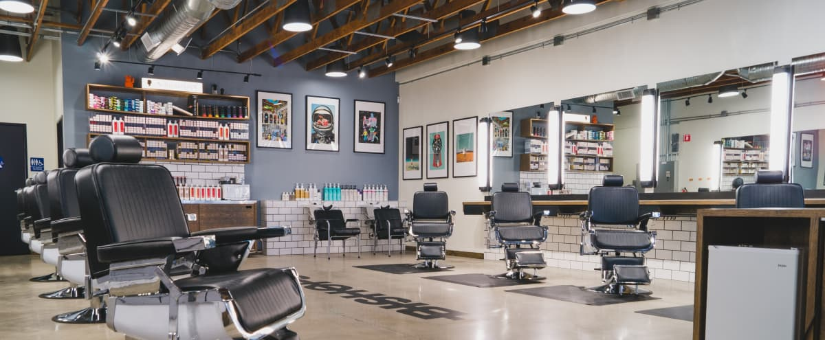 Edgy & Open Pacific Beach Hair Shop with Great Lighting in San Diego Hero Image in Pacific Beach, San Diego, CA