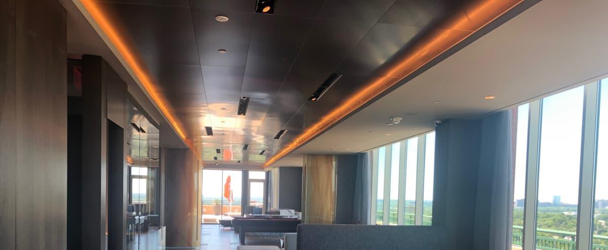 Modern Rooftop Lounge Space with Amazing Views! in Arlington Hero Image in Virginia Square, Arlington, VA