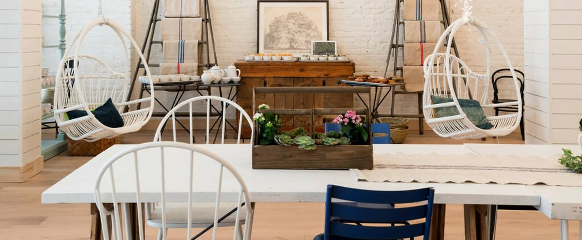 Barn-like Space with High Ceilings, Market-Lights, Painted Brick and Murals in San Francisco Hero Image in Polk Gulch, San Francisco, CA
