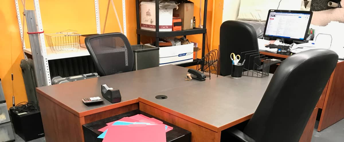Workstations in a Creative Environment in LIC Hero Image in Long Island City, LIC, NY