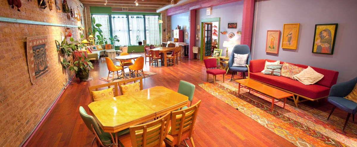 Brilliantly Bright, Creative Meeting Space Located in the West Loop in Chicago Hero Image in West Loop, Chicago, IL