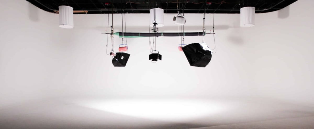 Spacious Television Ready Production Studio with Full Lighting and Sound Equipment in Nashville Hero Image in Metrocenter/North Rhodes Park, Nashville, TN