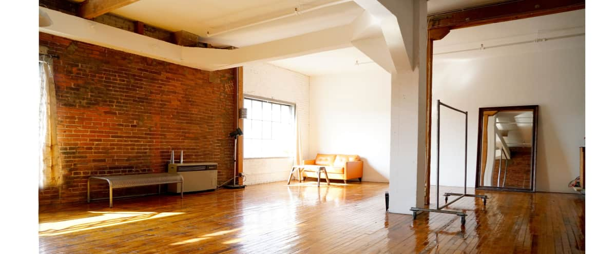 DTLA LOFT with fireplace, victorian sofas industrial antique furniture  Event Space in Los Angeles Hero - DTLA LOFT With Fireplace, Victorian Sofas Industrial Antique