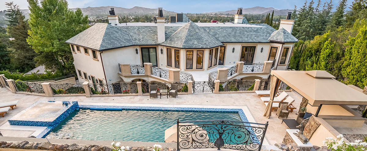 French Chateau Style Mansion in Westlake Village Hero Image in undefined, Westlake Village, CA