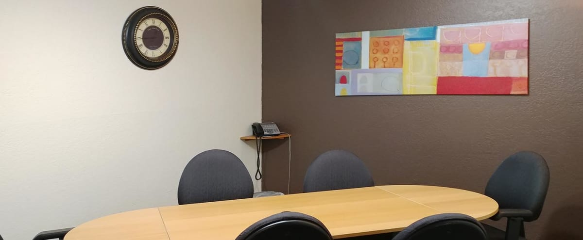 Private & Comfortable 6-Person Conference Room in Phoenix Hero Image in Camelback East Village, Phoenix, AZ
