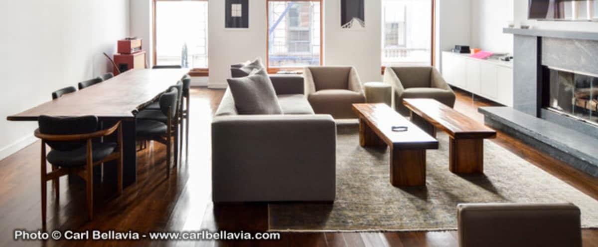 Luxury Soho Loft / Designer Furniture in new york Hero Image in Lower Manhattan, new york, NY