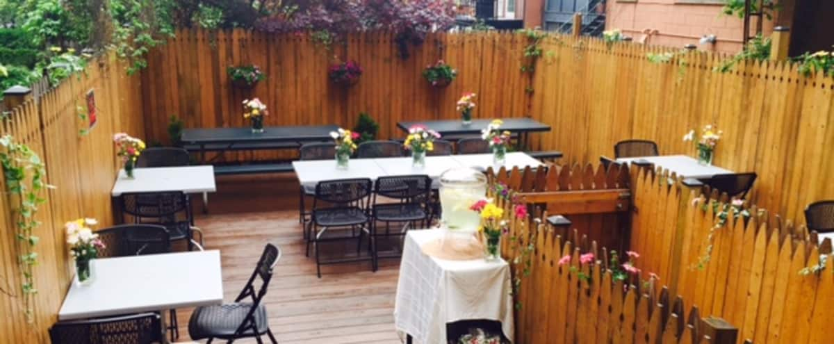 Cozy, Elegant & Unique Cafe w/ Outdoor Deck in Carroll Gardens in Brooklyn Hero Image in Carroll Gardens, Brooklyn, NY