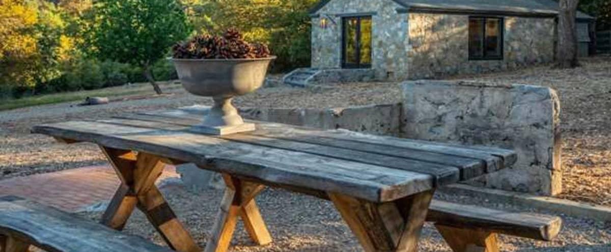 Soho Farmhouse inspired Farm & Art Studio   Perfect for Intimate Events & Corporate Retreats in Julian Hero Image in undefined, Julian, CA