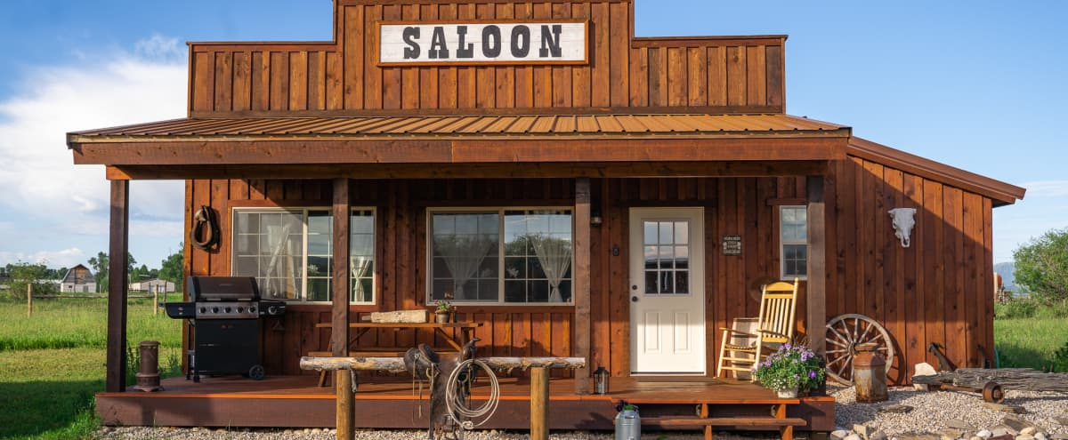 Culpepper Western Town Saloon Photograph by Randall Nyhof