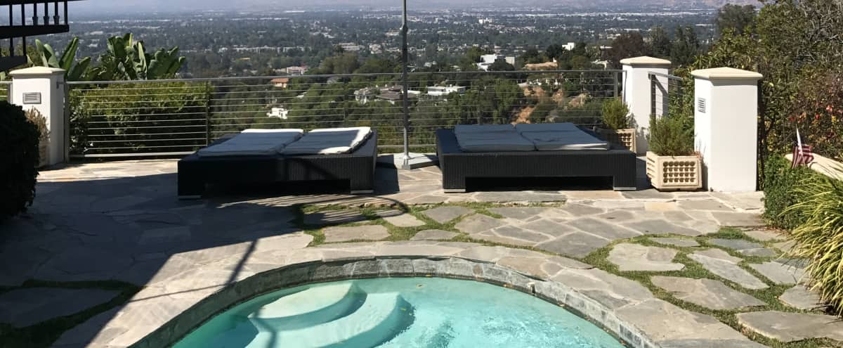 Dramatic VIEW Property with large outdoor space, lush gardens and a majestic ambiance in STUDIO CITY Hero Image in Studio City, STUDIO CITY, CA