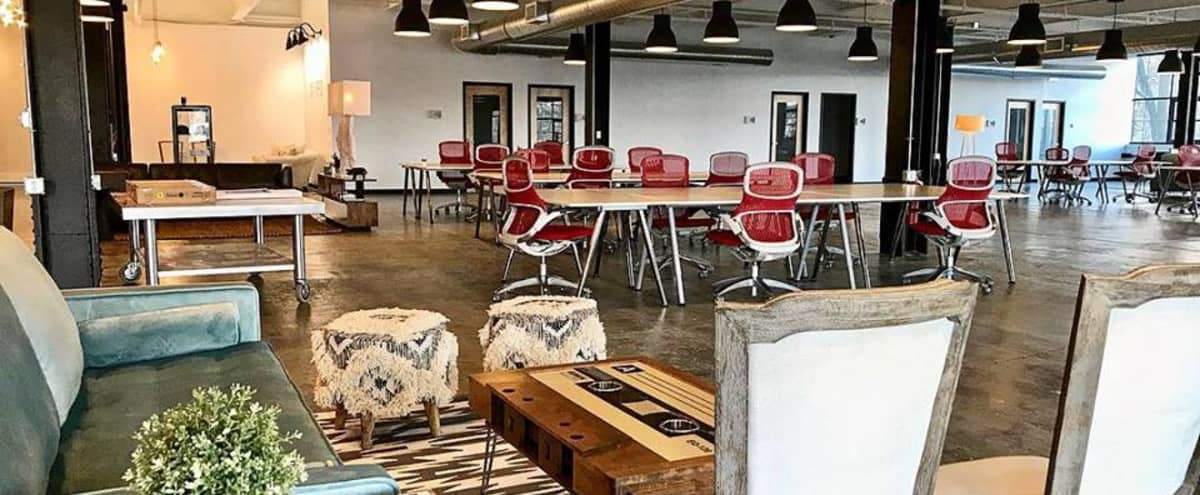 Industrial-Chic Coworking / Event Space for Photo Shoots in Hudson Hero Image in Hudson, Hudson, MA