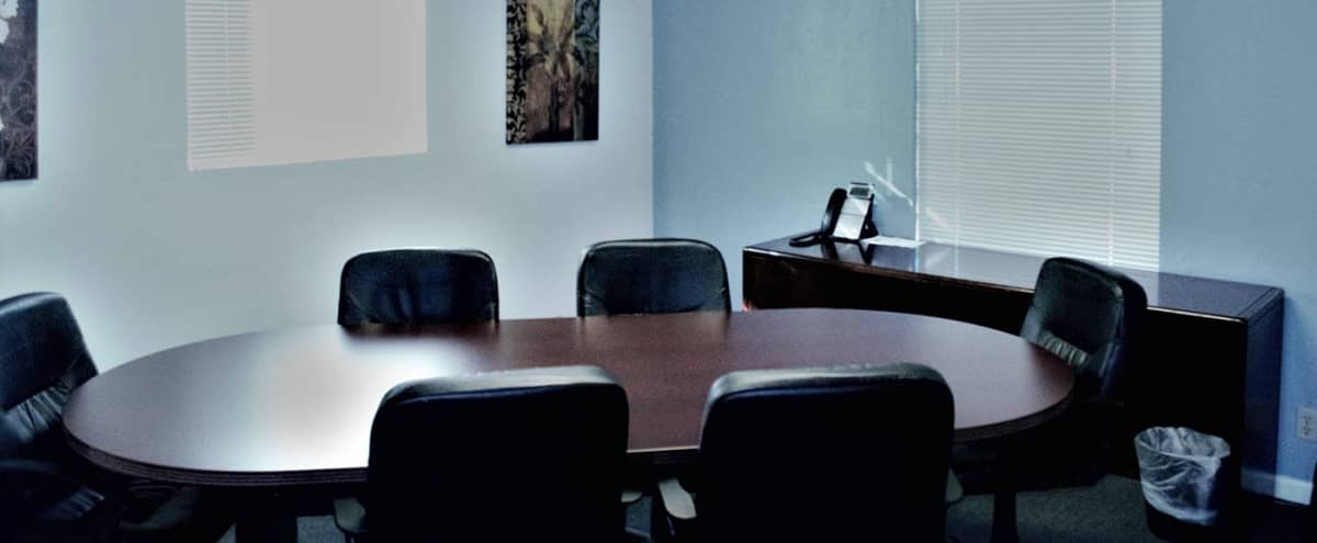 Cozy 6 Person Business Meeting Room Equipped with State-of-the-art Technology in Mesa Hero Image in undefined, Mesa, AZ