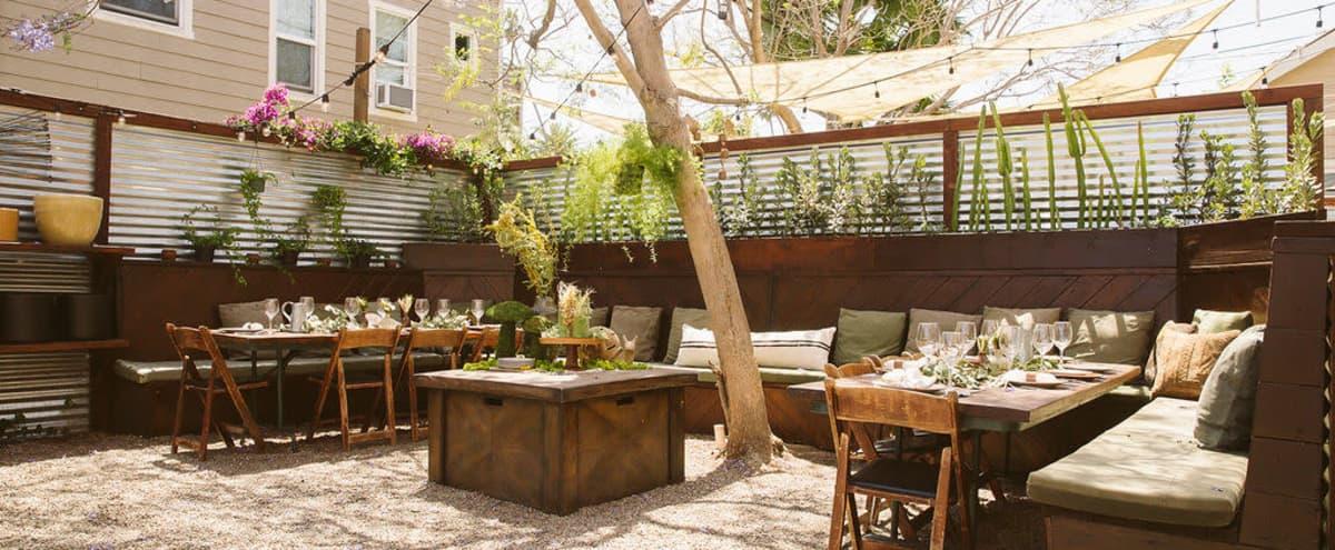 Beautiful Private Outdoor Gathering Space in Long Beach Hero Image in 4th Street Corridor, Long Beach, CA