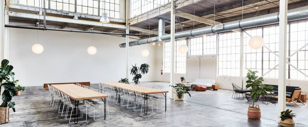 Former Arts District Steel Factory with Perfect Natural Lighting in Los Angeles Hero Image in Central LA, Los Angeles, CA
