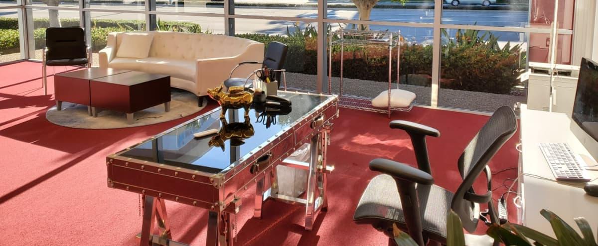 Natural Lighting Executive Corner Office Suite in Irvine Hero Image in Irvine Business Complex, Irvine, CA