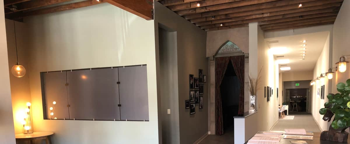Multi-Use Office, Gallery Space, and Screening Room in West Hollywood Hero Image in Central LA, West Hollywood, CA